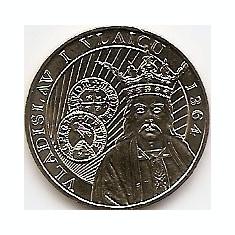 Monede Romania, An: 2014 - Romania 50 bani 2014 (comemorativa: Vladislav I Vlaicu) KM-New UNC !!!