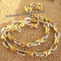 Lantisor placate cu aur - Lant inox placat =70 ron
