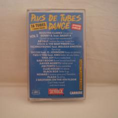 Vand caseta audio Plus De Tubes Dance vol.2.Originala, ! - Muzica Pop warner, Casete audio