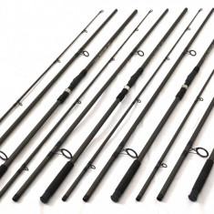 Lanseta, 3.9 m, Numar elemente: 3 - SET 4 lansete FINO CARP, 3, 9m, 3, 25LBS din 3 tronsoane, carbon 70%