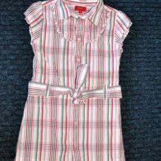 Rochita tip camasa, de vara, foarte draguta, marca Tigerlily/ Debenhams, fete 4 ani/ 104 cm, Culoare: Multicolor