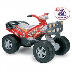 Masinuta electrica copii - ATV 2 locuri Mega Cyclops 12V Injusa