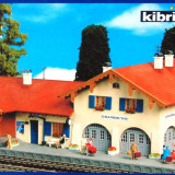 Macheta Feroviara Alta, 1:87, HO, Accesorii - Gara Grasbrunn, Kibri HO 9388, Scara HO(1:87)