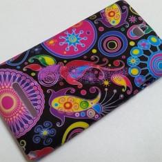 Husa, Silicon, Husa - Toc silicon Jelly Case Black Design Nokia Lumia 520