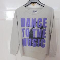 Haine Copii peste 12 ani, Bluze, Fete - Bluza larga oversize moderna, marca FF teen, fete 12-13 ani