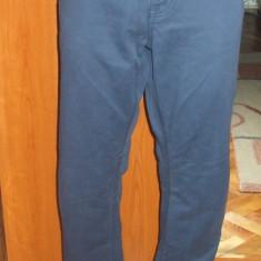 Blugi albastri de barbati lungi drepti cu fermoar ST GEORGE DUFFER 32 - Blugi barbati Gap, Culoare: Bleumarin, Normal