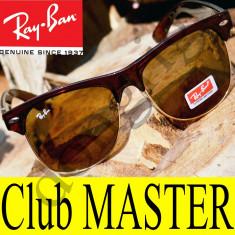 Ochelari de soare Ray Ban, Unisex, Gri, Wayfarer, Metal, Fara protectie - Ochelari Ray Ban ClubMaster