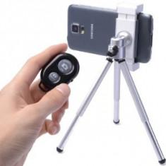 Telecomanda Selfie cu Bluetooth pentru Telefoane Tablete Android si Iphone