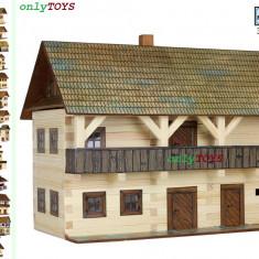 Set constructie casuta casute traditionale din lemn Magistratura Tribunal - Jocuri Seturi constructie Walachia