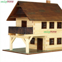 Jocuri Seturi constructie - Set eco walachia guildhall casa casuta casute traditionale din lemn - PRIMARIA