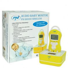 Resigilat - Audio Baby Monitor PNI B6000 wireless audio duplex