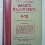 GAZETA DE MATEMATICA - LOT ANUL 1982 NUMERELELE 9 - 10 + 11 + 12 - Culegere Matematica