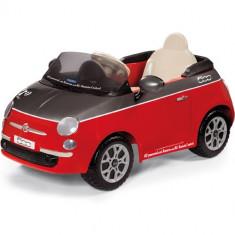 Fiat 500 Red cu Telecomanda - Masinuta electrica copii Peg Perego