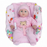 Papusa - Bebe cu scaunel si 9 functii