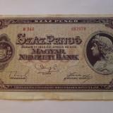 100 PENGO 1945, MATEI CORVIN - bancnota europa