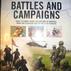 Atlas istoric - Batalii si campanii - Battles and campaigns - in engleza