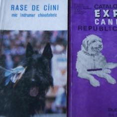 Caine - Rase de caini mic indrumar chinotehnic + catalog Expo canin