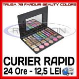 TRUSA FARDURI 78 NUANTE BEAUTY COLOR - BLUSH, FARD DE PLEOAPE, MACHIAJ MAKEUP - Trusa make up