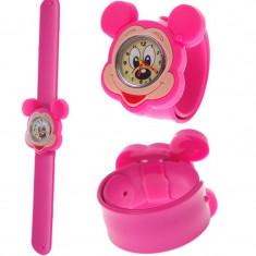 Ceas copii Disney SLAP CEAS SLAP unisex Ceasuri copii mini mouse Ceas silicon mouse
