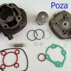 Set cilindri Moto - Kit Cilindru / Set Motor + CHIULOASA Scuter Malaguti F12 / F12R / F15 49cc 50cc