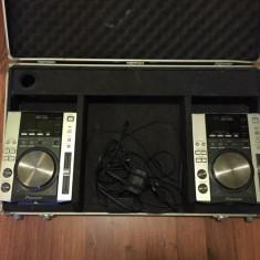De vanzare 2xCDJ 200 + case - CD Player DJ