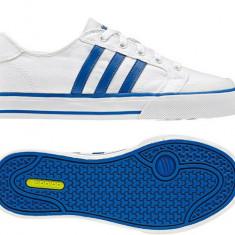 Adidasi din panza Adidas Clemente nr 36 - LICHIDARE DE STOC - Adidasi dama, Culoare: Alb