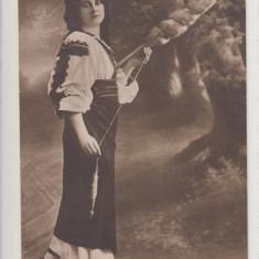PORT DIN RASNOV, PORT POPULAR - Carte postala tematica, Necirculata, Printata