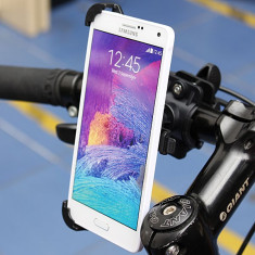 Suport telefon bicicleta - Suport bicicleta moto Samsung Galaxy Note 4 + folie ecran + posta gratuita