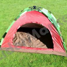 Cort camping pentru 3 persoane - pliabil, foarte usor de instalat !