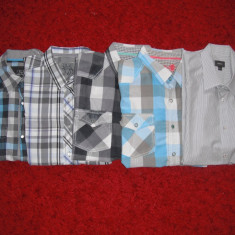 5 camasi (ESPRIT, MEXX) la un super pret! - Camasa barbati Esprit, Marime: M, Culoare: Albastru, Maneca scurta