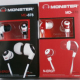 Casti Monster Beats N-eNergy( R) by dr dre, Casti In Ear, Cu fir, Jack 3, 5mm
