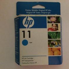 Cartus imprimanta - Cartus HP 11 cartus cerneala - Cyan - ORIGINAL - Poze reale !