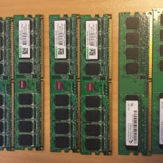 Kit DDR 2, 5300 (667Mhz) 2 x 512MB - Memorie RAM Kingmax, Dual channel