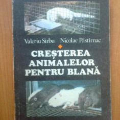 n2 Cresterea animalelor pentru blana - Valeriu Sirbu, Nicolae Pastirnac