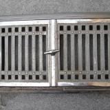 Usa de cuptor din fonta cromata, de la soba veche - Metal/Fonta