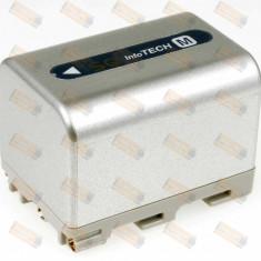 Acumulator compatibil Sony HVR-A1E 3400mAh argintiu - Baterie Camera Video