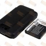 Acumulator compatibil Samsung Galaxy Note 2 Flip Cover negru