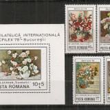 Romania.1979 Expozitia filatelica SOCFILEX CR.556 - Timbre Romania