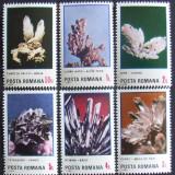 ROMANIA 1985 - FLORI DE MINA  6 VALORI, NEOBLITERATE - RO 0199