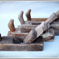 LOT 4 RINDELE VECHI DE TÂMPLĂRIE DIN LEMN ȘI FIER, FUNCȚIONALE, POT FI FOLOSITE! - Metal/Fonta