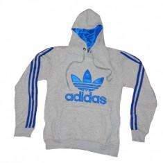 Hanorac barbati Adidas, Bumbac - Cardigan cu gluga Hanorac Adidas Originals barbati