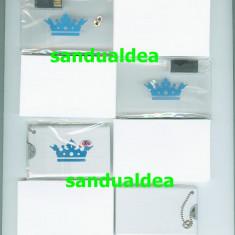 MEMORY STICK USB ( stick memorie ) 8GB TIP CARD BANCAR -transparent sau metalic, USB 2.0