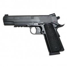 Arma Airsoft - Sig Sauer 1911 GSR metal slide CO2 [Cybergun]