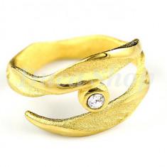 Inel placat cu aur 22k, cod 511 - Inel placate cu aur