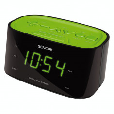 Sencor aparat radio cu ceas SRC 180 GN, verde