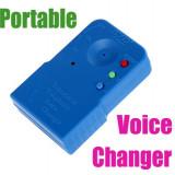 Gadget - Sintetizator voce dispozitiv schimbare voce pentru farse glume poante jucarie