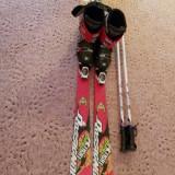 Set complet Skiuri Rossignol 150cm, Legaturi Rossingnol, Clapari Snoxx 250mm