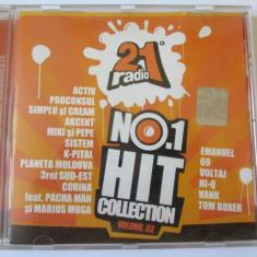 CD ORIGINAL RADIO 21 HIT COLLECTION, COMPILATIE Muzica Pop roton-ROCK ROMANEASCA 2004