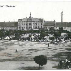 3356 - Maramures, SATU-MARE, Market - old postcard - unused - Carte Postala Maramures 1904-1918, Necirculata, Printata
