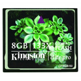 CF CARD KINGSTON model: ELITE PRO 133X capacitate: 8 GB culoare: NEGRU